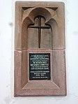 Nijmegen St Stevenskerk, oorlogsmonumentje Stoke (Coventry) Branch British Legion.JPG