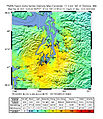 Nisqually Earthquake ShakeMap Oct 13 2003.jpg