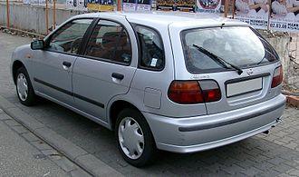 Nissan Almera - Nissan Almera 5-door hatchback
