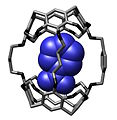 Nitrobenzene bound within hemicarcerand from Chemical Communications (1997).jpg