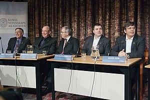 Graphene - Andre Geim and Konstantin Novoselov, 2010