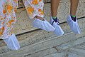Non-woven Fabric Shoe Covers - Taj Mahal - Agra 2014-05-14 3916.JPG