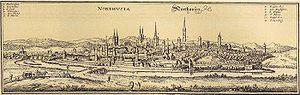 Nordhausen - Nordhausen in the 17th century