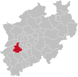 Rhein-Kreis Neuss District in North Rhine-Westphalia, Germany