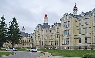 Psychiatric hospital - Traverse City State Hospital, Traverse City, Michigan