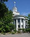 Nova Kahovka Ensemble of Central Square Buildings 03 (YDS 0190).jpg