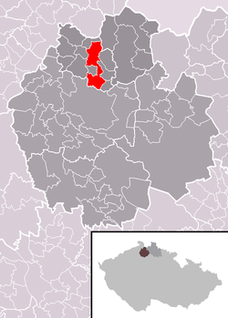 Location of Nový Bor