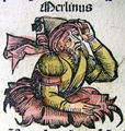 Nuremberg chronicles - Merlin (CXXXVIIIr).jpg
