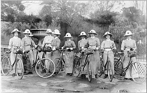 District nurse - District nurses in Melbourne, 1904.