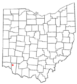 Location of Day Heights, Ohio