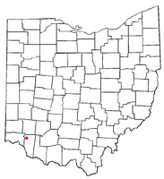 Location of Mulberry, Ohio
