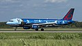 OO-SNC A320 Brussels Airlines (Magritte livery) DME UUDD 1 (28885950578).jpg