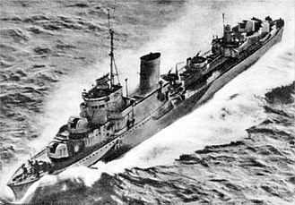 ORP Błyskawica - ORP Błyskawica in the Northern Atlantic during World War II