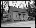 OUTBUILDING, NORTH FRONT - Lowe-Turner House, Outbuilding, 88 Keys Ferry Street, McDonough, Henry County, GA HABS GA,79-MCDO,1A-1.tif
