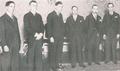 O governo de Salazar presta o Compromisso de Honra perante o Presidente Carmona no Palácio de Belém (5 de Julho de 1932).png