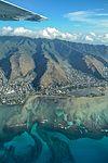 Oahu as seen from a plane.jpg