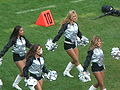 Oakland Raiderettes at Falcons at Raiders 11-2-08 04.JPG