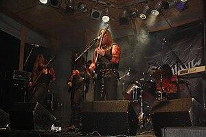 Slechtvalk beim Occultfest 2010