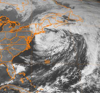 October 2000 Atlantic Canada storm complex