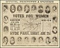 Official Programme & Souvenir of the Women's Sunday March on 21 June 1908 in Hyde Park.jpg