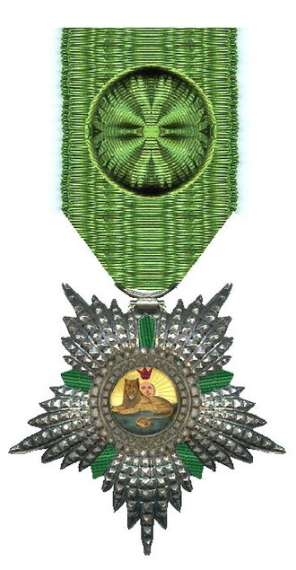 Henry Lindsay Bethune - Henry Lindsay Bethune received the Order of the Lion and the Sun in 1816.
