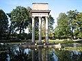 Ogród Strzelecki mauzoleum Józefa Bema w Tarnowie, ul. Piłsudskiego Słowackiego (-) 2 pavw.JPG