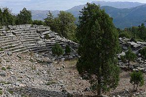 Oenoanda - The Greco-Roman theatre in Oenoanda