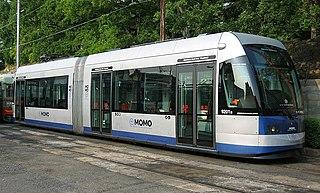Okayama Electric Tramway Tram system in Chūgoku, Japan