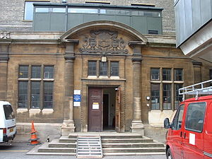 New Museums Site - Image: Old Examinations Hall entrance