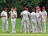 Old Finchleians Cricket Club v Highgate Taverners Cricket Club at Finchley, London, England 13.jpg