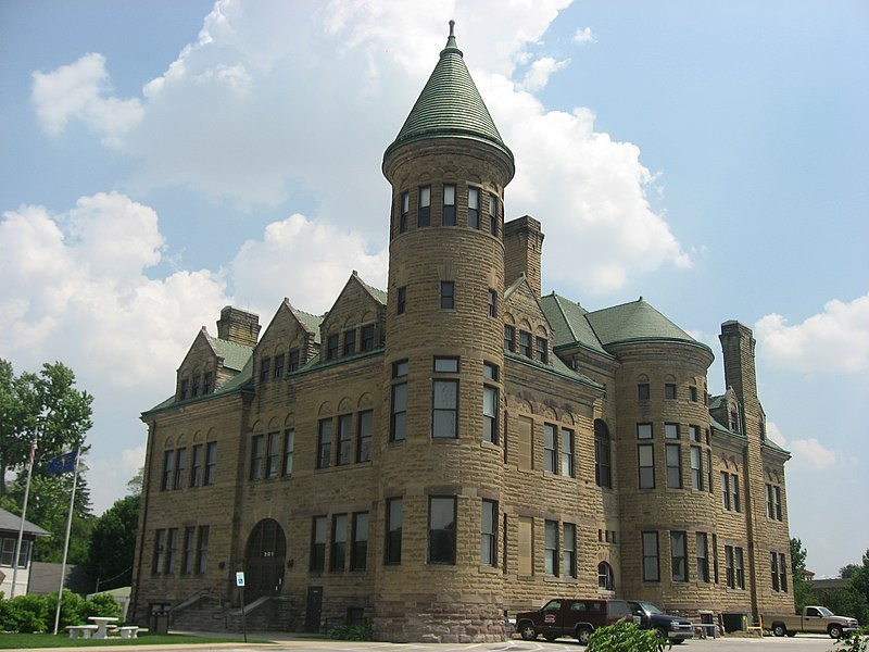 City Hall in Frankfort, IN