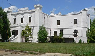 Orangeburg County, South Carolina - Image: Old Orangeburg Co SC jail from SW 1