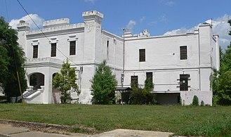 Orangeburg County Jail - Image: Old Orangeburg Co SC jail from SW 1