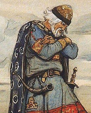 Oleg of Novgorod - Oleg of Novgorod by Viktor Vasnetsov