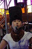 Olena Tsibulska (DakhaBrakha) (Haldern Pop 2013) IMGP6635 smial wp.jpg
