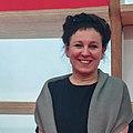 Olga Tokarczuk Nobel Prize in Literature Winner at Frankfurt Book Fair (cropped).jpg