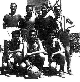 Olympiacos B.C. - Olympiacos team in 1943