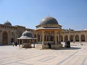 Omayad Mosque of Aleppo Syria