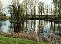 One of the fish ponds near the parish church - geograph.org.uk - 766303.jpg