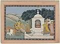 Ontvoering van Rukmini door Krishna, RP-T-1993-321.jpg