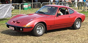 "Opel GT - The reduced specification GT/J (for ""Junior"") introduced in 1971 represented an attempt to broaden the appeal of the Opel GT."