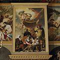Oranjezaal na de restauratie- schilderij boven de ingang westzijde - 's-Gravenhage - 20429658 - RCE.jpg