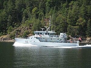 CFB Esquimalt - Image: Orca 55gulfislands