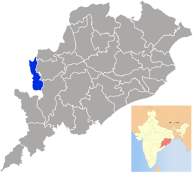 Localisation de District de Nuapada