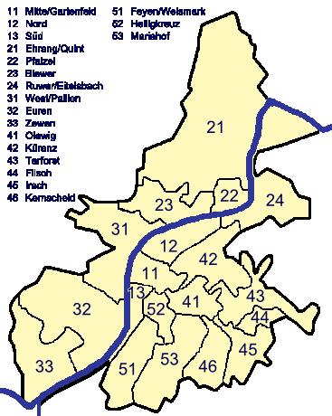 Ortsbezirke-trier