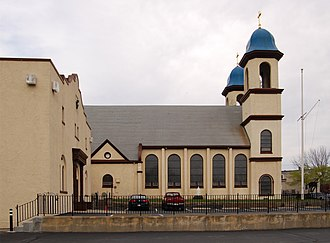 Our Lady of Good Voyage Church (Gloucester, Massachusetts) - Image: Our Lady of Good Voyage Church