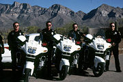 Oro Valley, AZ motor officers with BMW R1100RT-Ps