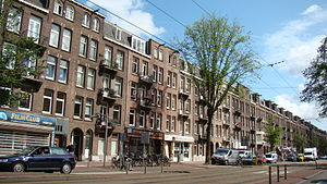 Amsterdam Oud-West - Overtoom in Oud-West, Amsterdam.