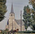 Overzicht van de westgevel met kerktoren - Poortugaal - 20384019 - RCE.jpg