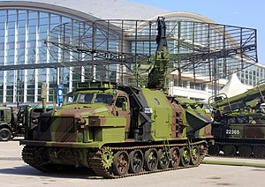 P-40 radar -  P-40 radar of Serbian Army 250th Air Defense Missile Brigade.